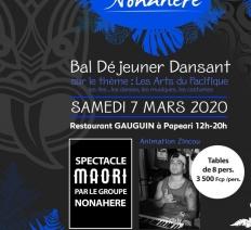 Nonahere : Bal Déjeuner Dansant sur le thème : Les Arts du Pacifique